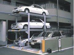Mini parking.Serretecno